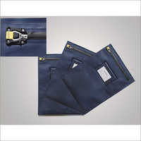 Zipper PVC Security Bag with Waterproof Function for Bank and Post Office