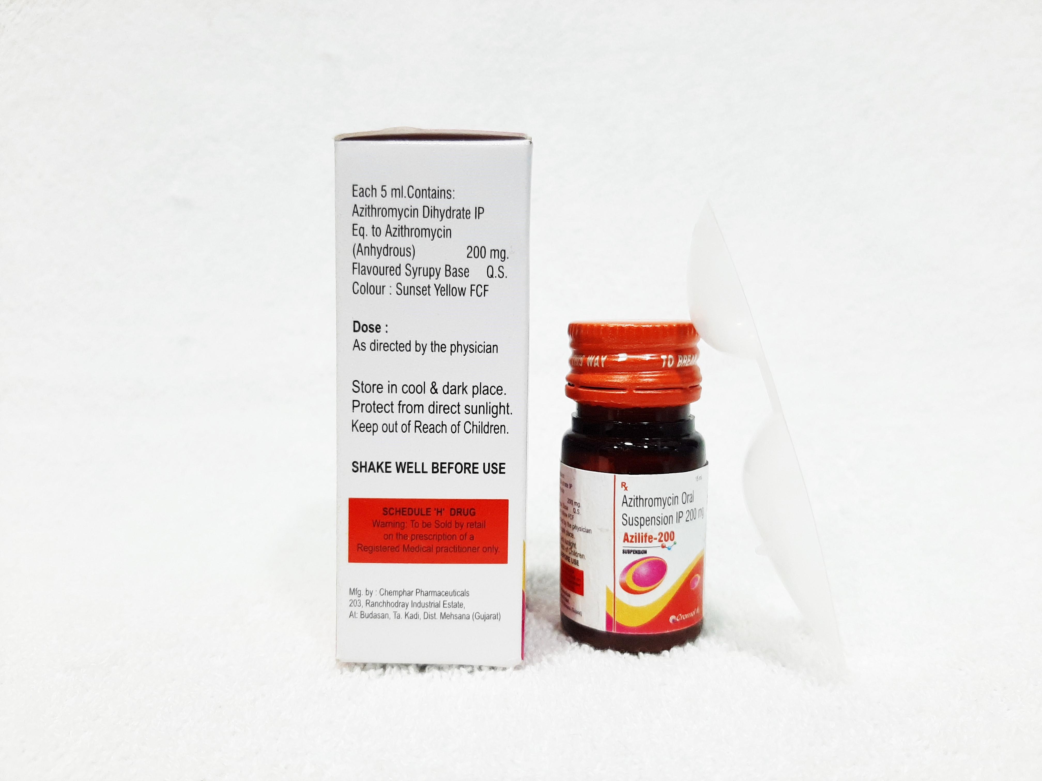Azithromycin Oral Suspension Ip