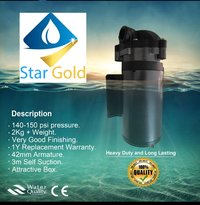Star Gold Booster Pump