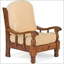 Solid Wooden Sofa Chair