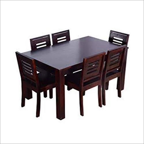Sheesham Wood 6 Seater Dining Table