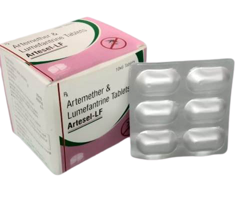 Artemether 50mg + lumefantrine 480mg