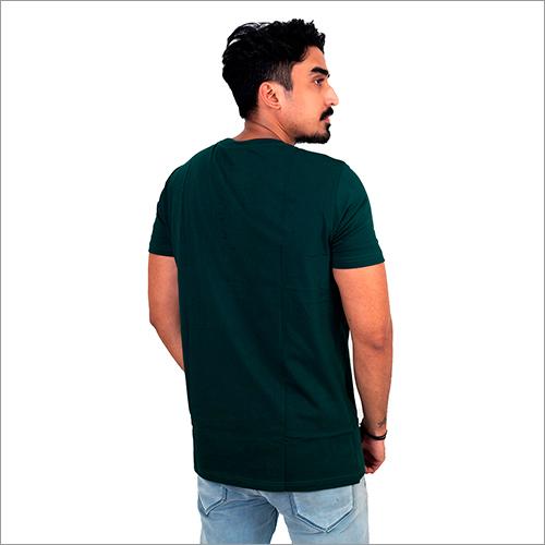 Mens Plain Round Neck T-Shirt