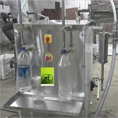 50ml And 100 ml Double Head Bottle Filling Machine