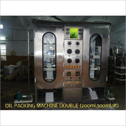 Double Head Oil Packing Machine