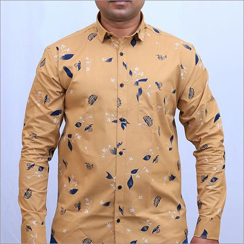 Mens Printed Full Sleeve Shirt