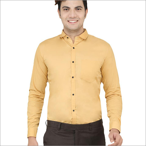 Mens Premium Solid Shirt
