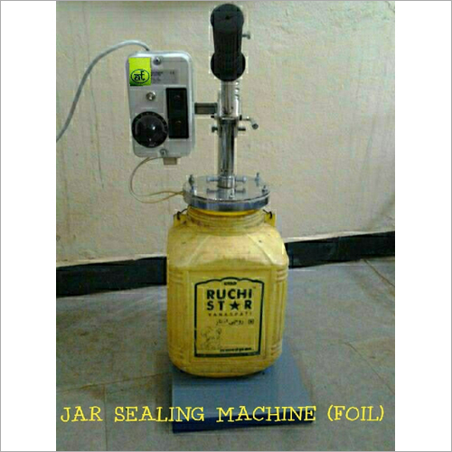 Jar Sealing Machine (Foil)