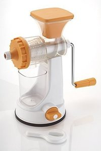 Plastic Fruits and Vegetable Juicer with Steel Handle