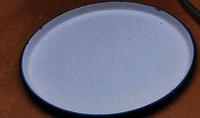 enamlled plate