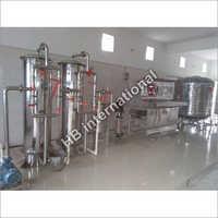 HB 2000 Liter SS RO Plant