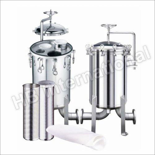 Industrial Stainless Steel Bag Filter Housing