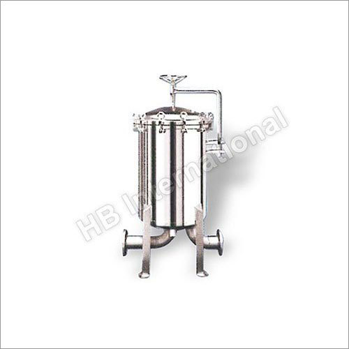 Stainless Steel Basket Filter Stainer Housing