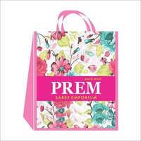 Loop Handle Printed Laminated Non Woven Bag