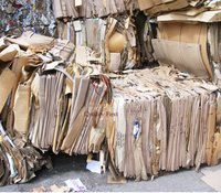 CORRUGATED WASTE PAPER SCRAP FOR RECYCLE