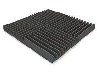 APAGAR Acoustic Wedge Foam Panel- SET OF 10 PCS