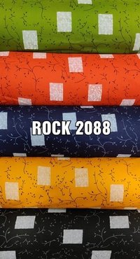Rayon Bada Panna Printed Fabric