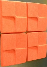 APAGAR Sugar Cube 3D panel- SET OF 10 PCS