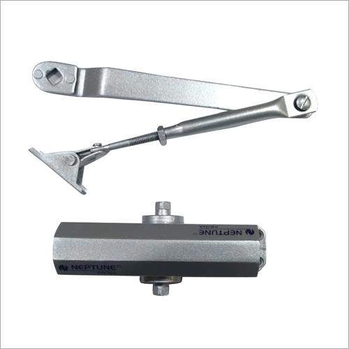 Silver Aluminium Hydraulic Door Closer