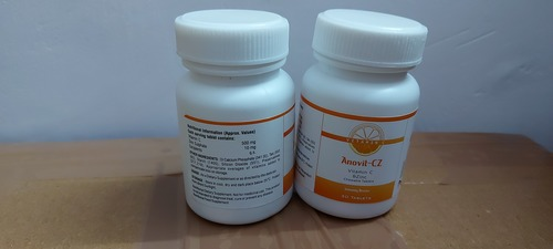 ANOVIT-CZ - VITAMIN C & ZINC CHEWABLE TABLETS