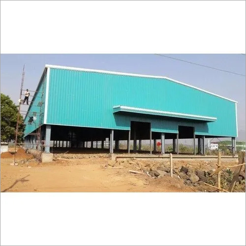 Industrial Steel Warehouse Shed