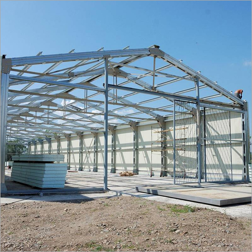 Steel Tube Structure Shed