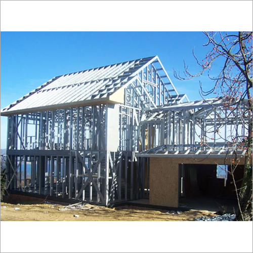 Structured Steel Building Structure Shed