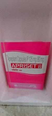 Apriset - Aprepitant Capsules Ip 125mg / 80mg