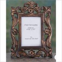 Wooden Handicraft Decorative Photo Frame Polished
