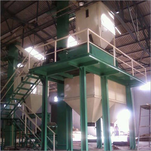 Semi Automatic Cattle Feed Machine