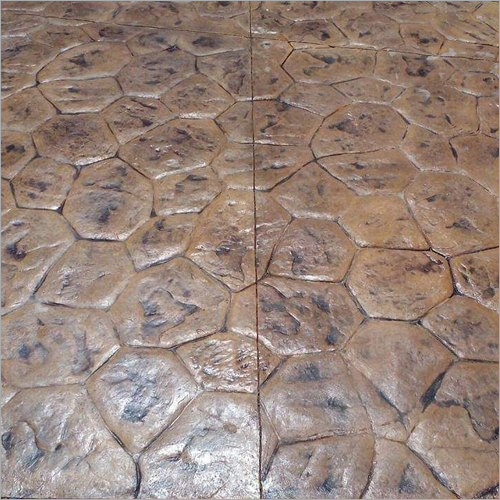 Random Stone Stamped Concrete Flooring Services