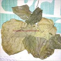 Organic Dry Betel Leaves