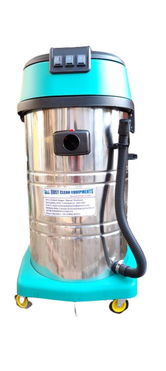 80 Liter Single Phase Three Motor Wet & Dry Vacuum Cleaner