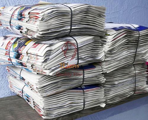 OCC WHITE WASTE PAPER SCRAP FOR NEWSPAPER