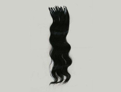 Keratin ITips Natural 1B Hair Extensions