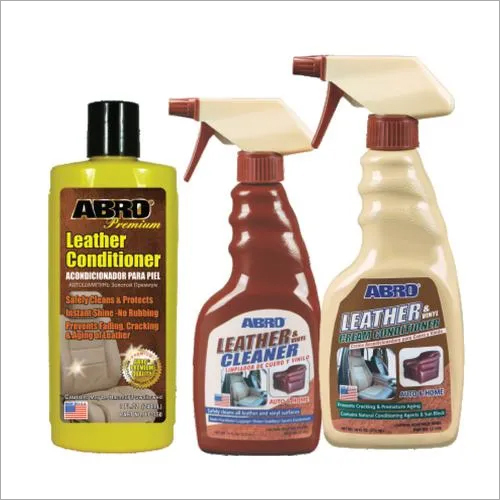 AIPL ABRO® LEATHER & VINYL CLEANER & CONDITIONER