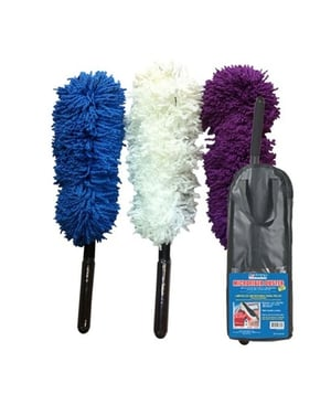 Abro MD-360 Multipurpose Car Cleaning Microfiber Duster with Flexible Handle