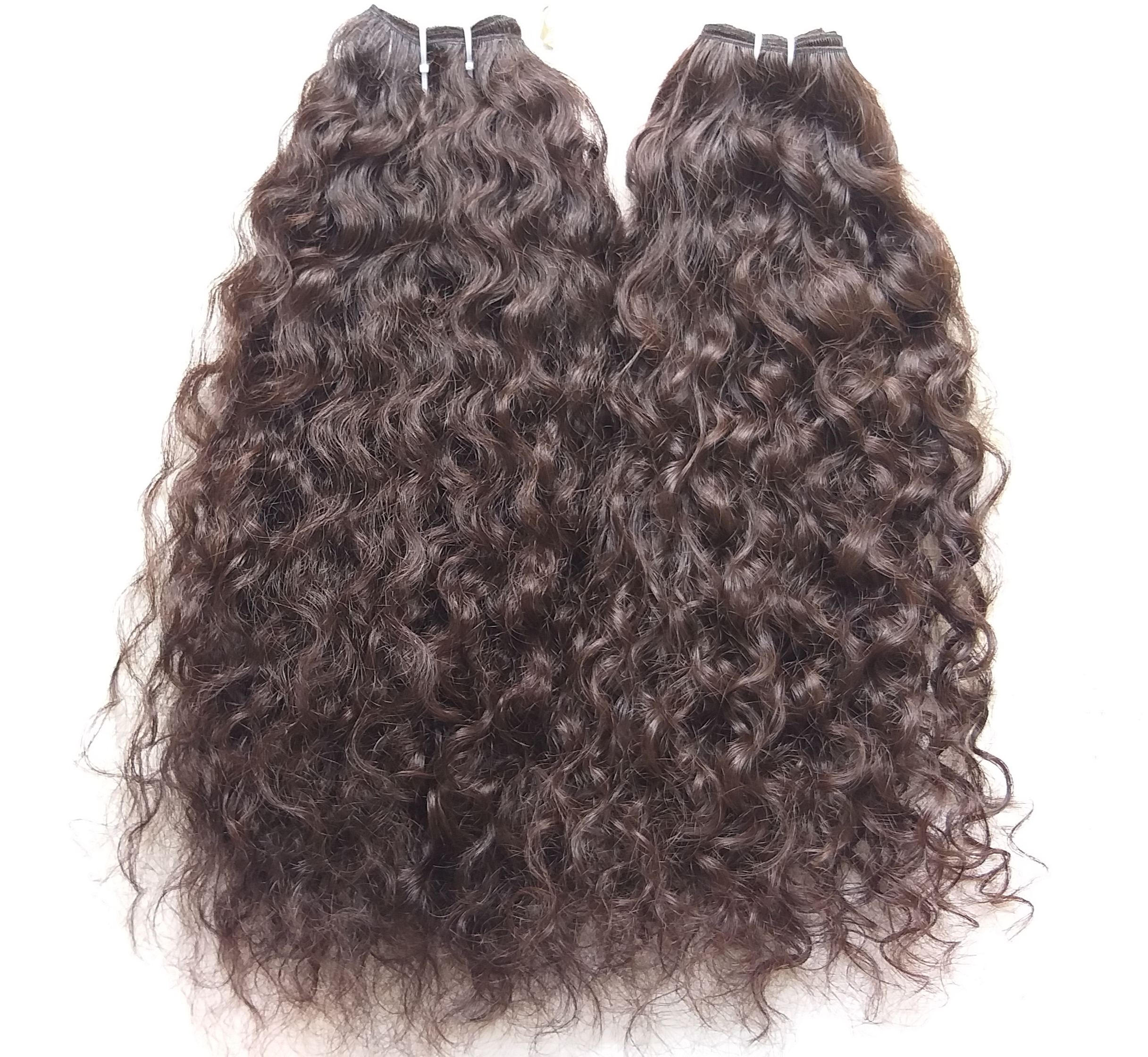 Remy Curly Human hair weaves, Soft hair
