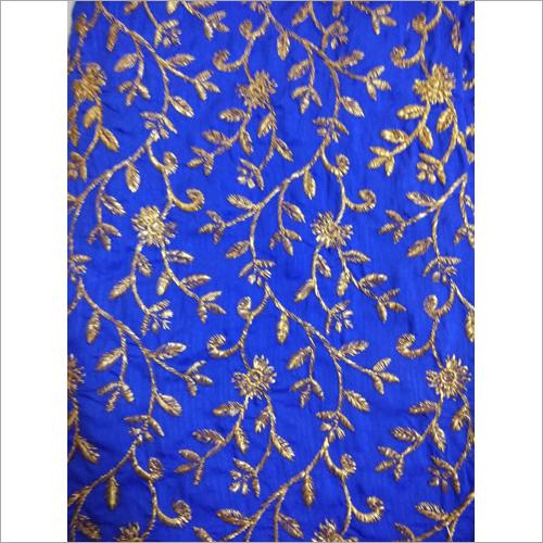 Banarasi Silk  Embroidered Fabric