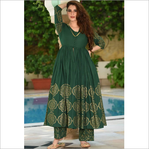 Fancy Jacquared Embroidered Dress Material