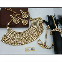 Ladies Antique Kundan Bridal Set