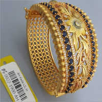 Gold Plated Antique Kada