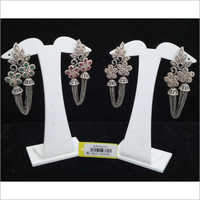 American Diamond Stylish Earrings Set