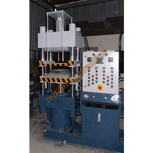 Rubber Molding Press Two Daylight Single Station