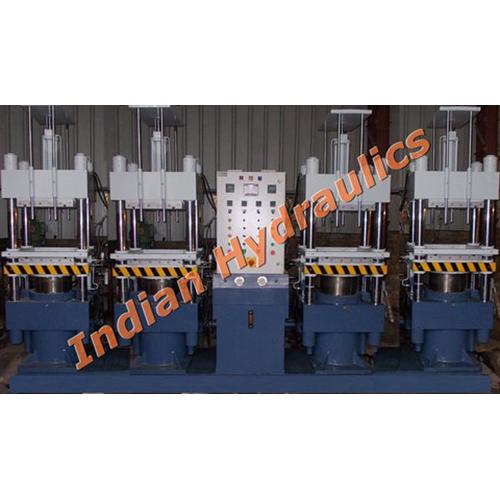 Rubber Molding Press Multi Station