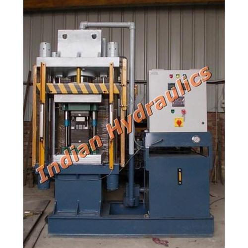 Hydraulic Brake Line Molding Press