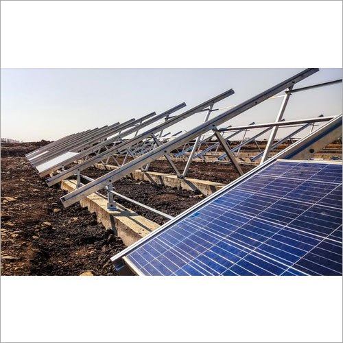 4 Mega Watt Ground Mounted Solar Power Project