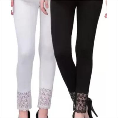 Cotton Cutwork Legging