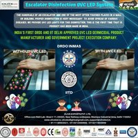 UVC LED ESCALATOR DISINFECTION