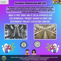 Escalator Disinfection UVC LED